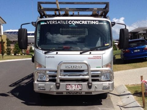 Business versatile-concreting